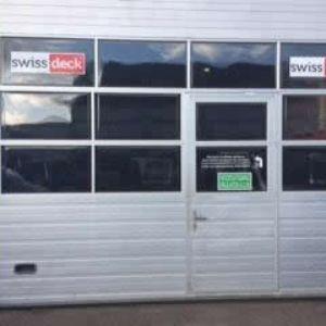 SwissDeck magazijn