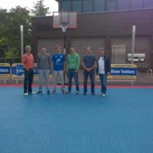 SportDeck Basketbal vloer