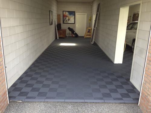 Goedkope Vloer Oplossing : Garagevloertegels voor het eenvoudig leggen van garagevloeren