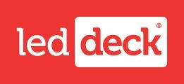 led-deck-rode-achtergrond